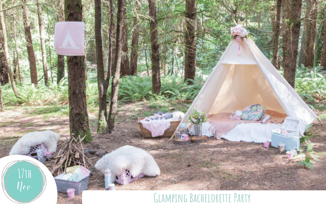 Safe and Socially Distant Glamping Bachelorette Party