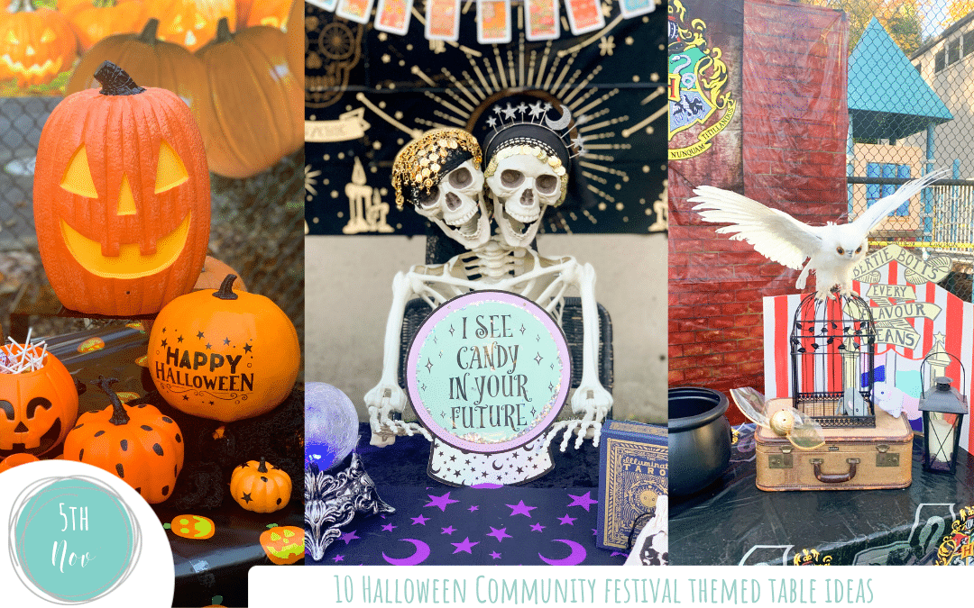 10 Themed Table Ideas for a Halloween Community Festival