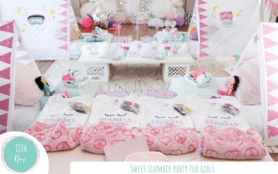 Sweet Slumber Party for Girls