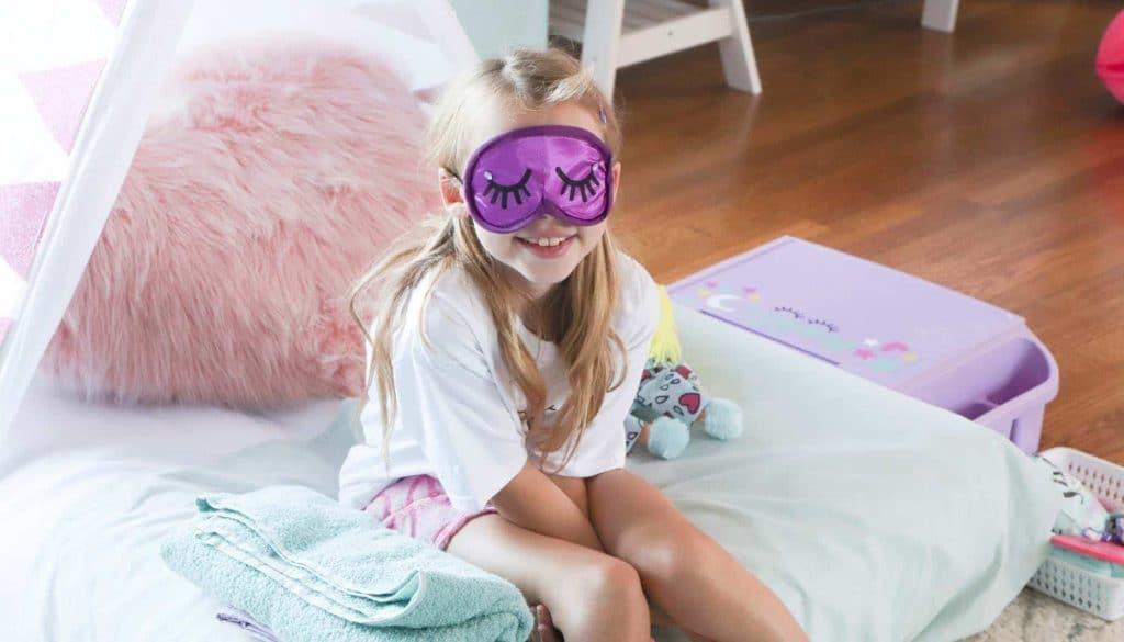 slumber party sleep mask