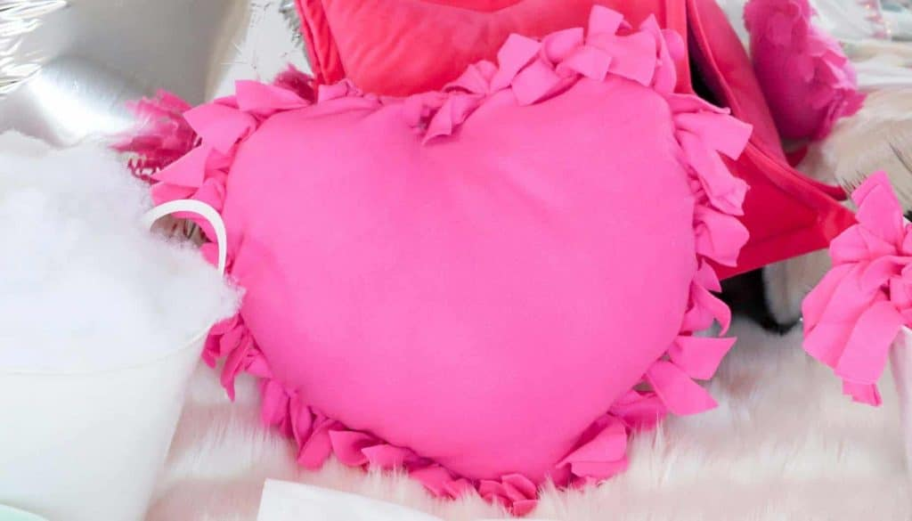 slumber party comfy pillows