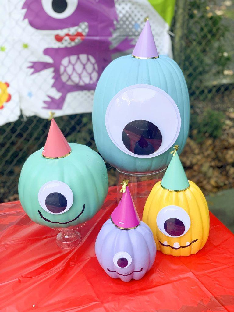 halloween community festival monster table