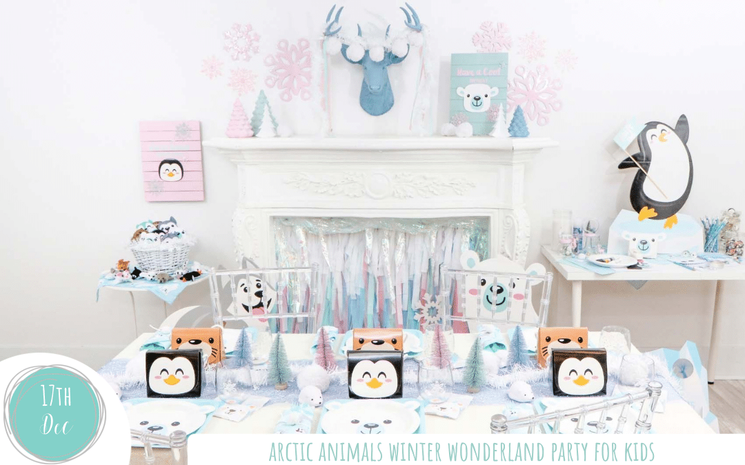 Artic Animal Winter Wonderland Party for Kids