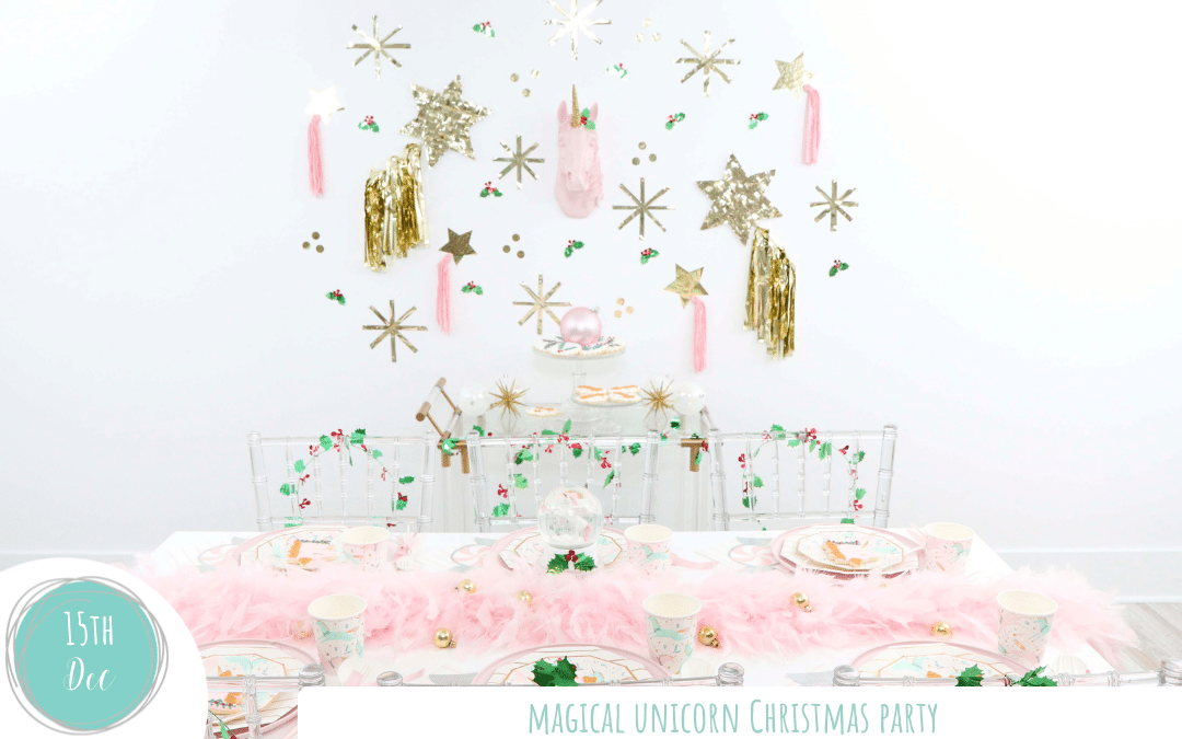 Magical Unicorn Christmas Party