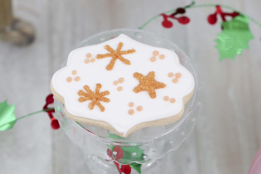 Magical Unicorn Christmas party dessert cookies