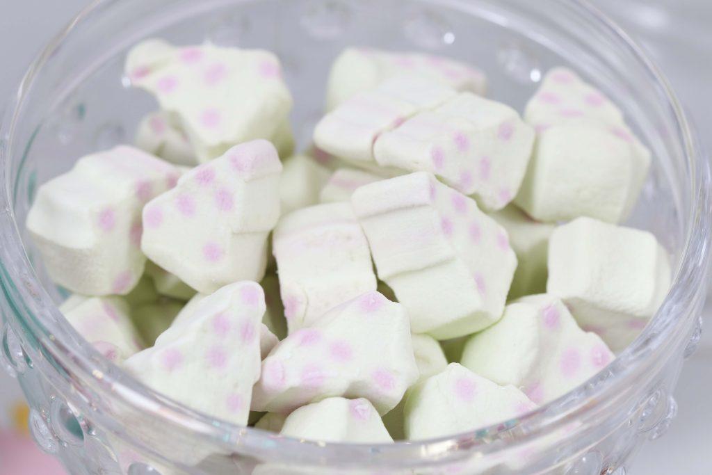 Making Spirits Bright Neon Holiday Party marshmallows