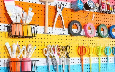 5 Craft & Party Supply Organization Ideas