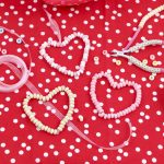 DIY Valentine's Day Candy Heart Ornament Craft