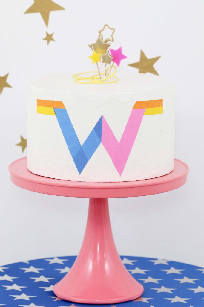 Wonder Woman 1984 Inspired Cake
