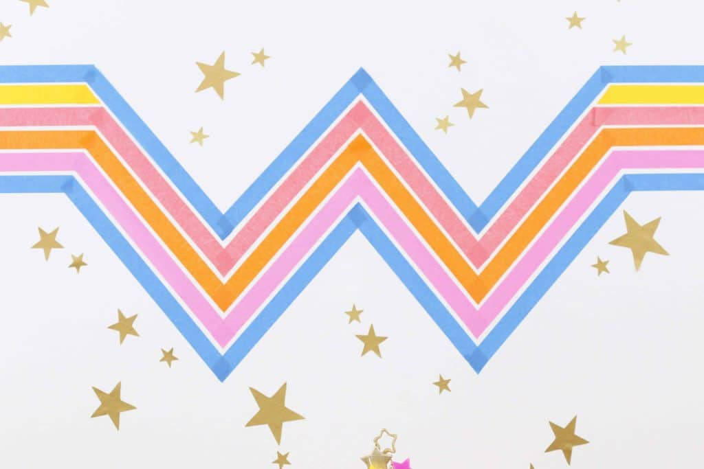Wonder Woman 1984 Inspired DIY Backdrop
