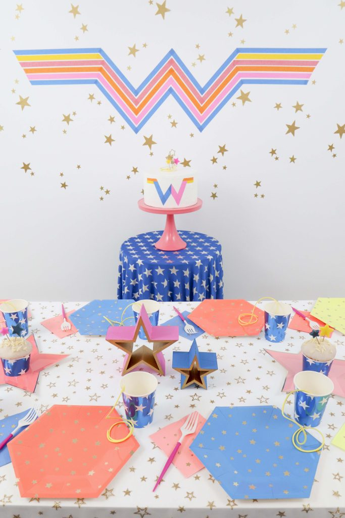 Wonder Woman 1984 Inspired Party Decor