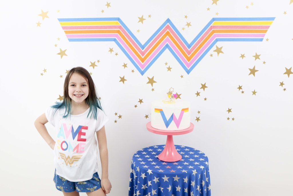 Wonder Woman 1984 Inspired Party Backdrop
