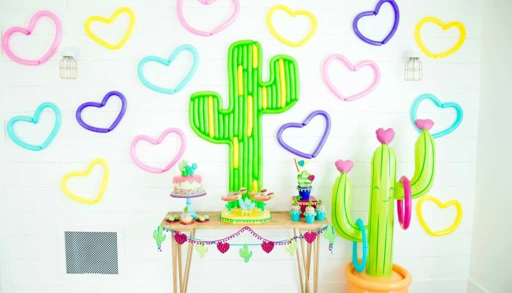 Cactus Valentine's Party - These fun 15 Valentine's Day Party Ideas for Kids and Teens feature tons of interactive activities, decor inspiration, and DIY dessert recipes! See them all now at fernandmaple.com!