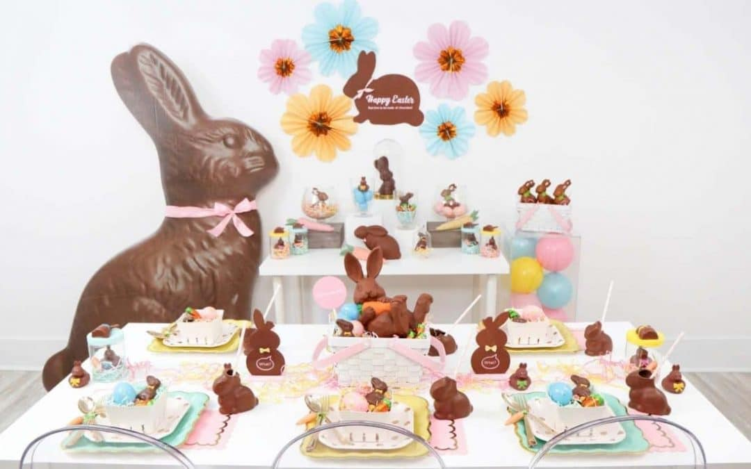 Chocolate Bunny Themed Easter Celebration
