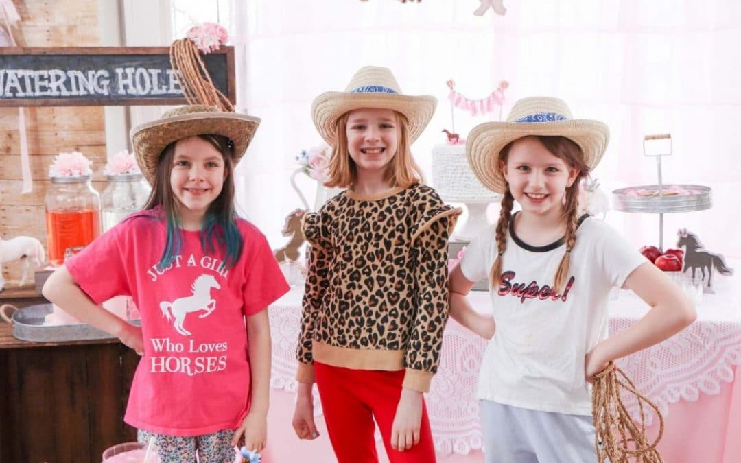 How to Create a Rustic Horse-Themed Kid's Birthday Party