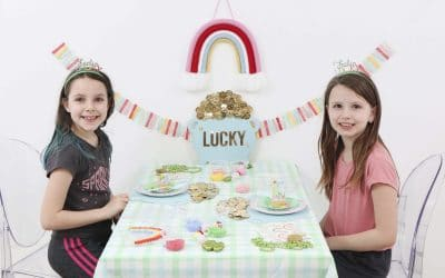 Easy & Inexpensive Lucky St. Patrick's Day Playdate Idea
