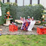 Epic Outdoor NERF Themed Birthday Party for Kids