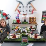 Game Zone - DIY Gamer Themed Party for Kids with Free Printables