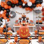 Jack-o'-Lantern Themed Halloween Kid's Party