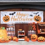 Jack-o-Lantern Themed Halloween Trick-or-Treat Station